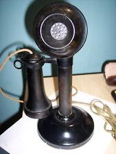 Antique Stromberg Carlson Candlestick Table Telephone Circa 1900's