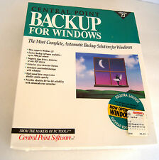Central Point Backup For Windows Version 7.2 Sealed In Box NEW