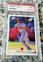ANDRUW JONES 1995 Best Top 100 Rookie Card RC PSA 9 MINT Low # 434 HRs Braves $$