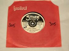 "IAN DURY AND THE BLOCKHEADS - 7"" SINGLE WHAT A WASTE - AUSSIE PROMO - STIFF"