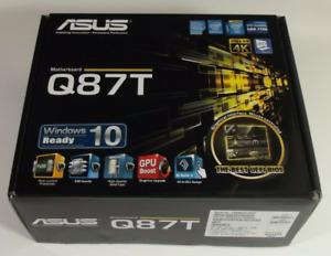 MINI ITX SCHEDA MADRE ASUS Q87T SOCKET 1150 x CPU INTEL DI 4° GENERAZIONE Q87