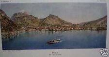 TRENTINO_TRENTO_RIVA_BRUNIALTI_ANTICO ILLUSTRATO_VEDUTE_CARTOGRAFIA_D'EPOCA_1919