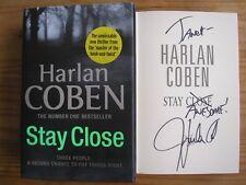 HARLAN COBEN - STAY CLOSE  1st ED.  HB/DJ  2012  SIGNED & LINED