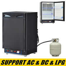 Portable Propane Refrigerator Mini Gas Rv Fridge Small Ac & Dc 1.4 Cu ft 40L