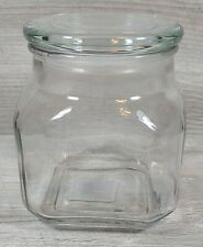 Anchor Hocking - Square Glass Canister - Lid - Plastic Seals - Clear 32 oz 95517