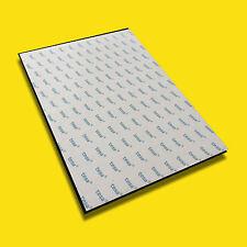 Selbstklebende Magnetfolie Magnet Folie Magnetband 200x200mm DIN A4 A5 A6 0,85mm