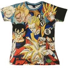 Señor 1991 Inc & Miss ir Dragon Ball Z Camiseta de impresión allover Talla L