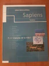 Gran Enciclopedia Sapiens 7 Tomos incompleta libros de consulta prácticos
