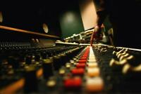 Recording Studio Control Panel Photo Art Print Mural Poster 36x54 inch