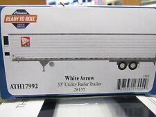 ATHEARN 17992 HO  WHITE ARROW   53FT UTILITY REEFER TRAILER # 28157