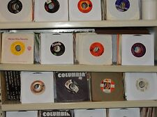"Nice Lot Of 50 45's Records  7"" Jukebox 45 RPM Vinyl"
