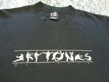 DEFTONES TAI-CHI / KUNG FU POSES LETTERS VINTAGE 1990s GIANT BRAND T-SHIRT LARGE