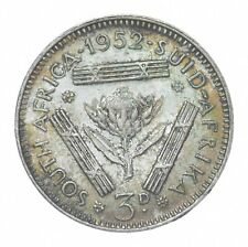 Better - 1952 South Africa 3 Pence - TC *013