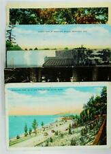 Lot of Vintage Postcards, Beautiful Color, Scenic Indiana, WI, IL, MI, #A52