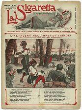 SATIRA-UMORISMO_La Sigaretta_Anno VII - N.302_Ed. Nerbini, 1912* vedi >>>