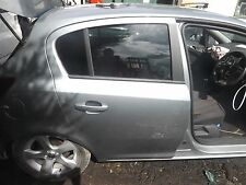 VAUXHALL CORSA D 5 DOOR DRIVERS REAR DOOR IN Z179 COLOUR BUYER COLLECTS