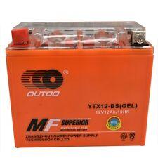 GEL YTX12-BS Battery FIT Honda VF750C C2 VFR750F PC800 CB1000 VTR1000F CBR1100XX