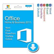 MICROSOFT Office Home and Business 2013 per Windows | prodotto scaricabile