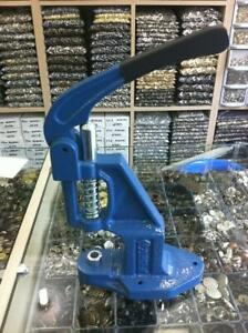 Hand Press Machine For Eyelet Rivet Button For Clothing And Leather Garment