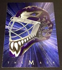 FELIX POTVIN 2001-02 Be a Player Between The Pipes THE MASK Foil DUFEX Card SP