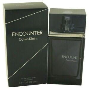 Calvin Klein Encounter EDT 100 ml. / 3.4 oz. Spray for Men. Made USA. New in Box