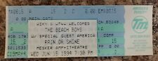 1994 Beach Boys Full Concert Ticket Stub Mesker Amphitheatre Evansville, Indiana