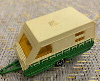 Majorette Caravane No 325 France Diecast Scale Model 1/70 Green