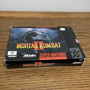 Mortal Kombat 2 | Super Nintendo SNES | CIB MINT Manual Booklet