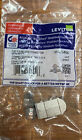 Leviton, 61SJK-RG6, CAT 6 Shielded Connector with RFT, Gray
