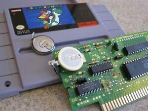 BATTERY SAVE GAME FIX REPLACEMENT REPAIR,NES,SNES,BOY,N64 N 64,SUPER NINTENDO👍