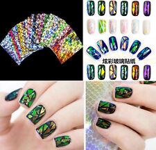Galaxy Multi Color Foil Nail Art Transfer Sticker Decal Gel Tips Decor DIY Nail