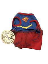 Supergirl DC Comics Superhero Dog Cat Dress Size Small