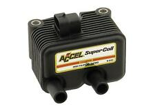 ACCEL 140409 Ignition Coil Motorcycle Single Fire Chrome .5 Ohms Resistance Each