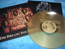BENEDICTION -THE DREAMS YOU DREAD- AWESOME MEGA RARE AMBER VINYL LP NEW DEATH