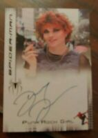 SPIDERMAN 3 MOVIE LUCY LAWLESS AUTOGRAPH PUNK ROCK GIRL XENA auto