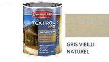 TEXTROL PRO 5L SATURATEUR GRIS VIEIL ASPECT HUILE BOIS TENDRE EXTERIEUR BARDAGE