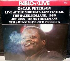 LIVE AT THE NORTHSEA JAZZ FESTIVAL OSCAR PETERSON 2 LP'S FACTORY SEALED CUT OUT