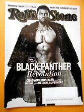 Mar/8/2018 Rolling Stone Mag. Black Panther Cover (Pre-Owned)