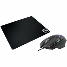 LOGITECH G502 Proteus Spectrum Bundle Gaming Maus + Gaming Mauspad, Schwarz