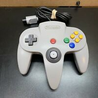 Nintendo 64 N64 (NUS-005) Controller Grey Loose Stick-Still Works- Tested