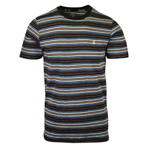 Volcom Men's Moorley Crew Striped S/S T-Shirt (S38)