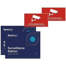 2 Stück Synology Device License + 2x Videoaufkleber Neu & OVP