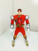 Bandai Power Rangers Wild Force Spinning Flip-Head Red Ranger Action Figure 2001