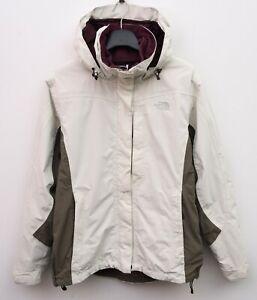 The North Face Hyvent Ski Jacket 3 in 1 Women M Purple Fleece Rain Coat 10 RA50