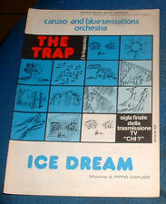 """Caruso and blue sensation orchestra """" THE TRAP """" Sigla Tv """" CHI ? ( Spartito )"""