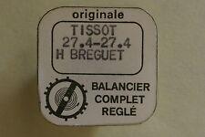 Balance complete TISSOT 27.4 27.4 H BREGUET bilanciere completo 721 NOS