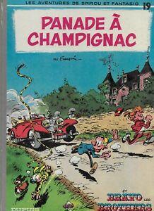 1969 Spirou et Fantasio Panade a Champignac et Bravo 19 French Comics Hardcover