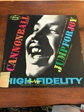 Cannonball Adderley; Jump for Joy, WLP Promo, Mercury, OG Deep Groove copy