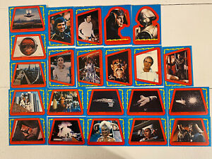 1979 Buck Rodgers In The 21st Century 22 Sticker/Puzzle Card Set, No Packaging