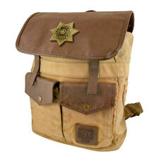 AMC The Walking Dead RICK GRIMES Sheriff Backpack brown OFFICIALLY LICENSED Bag